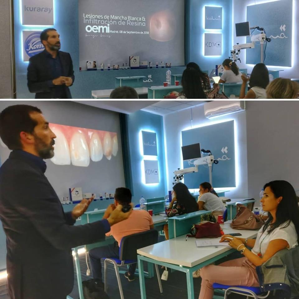 Drº George Gomes dá formação Madrid